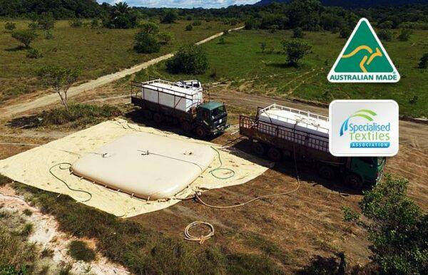 Truck with Frac Bladder Tanks-https://fmindustrial.com.au