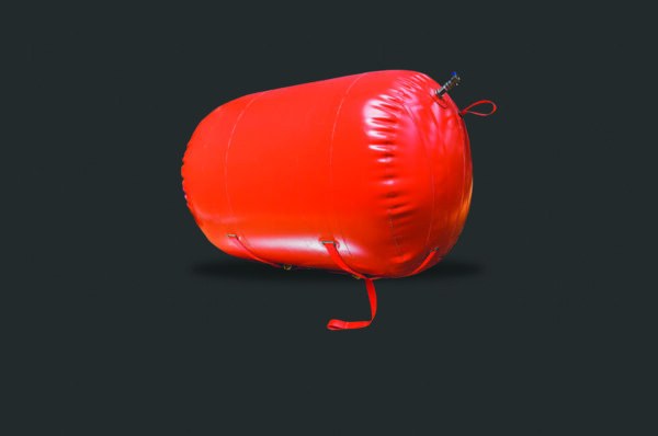 Red Underwater lift bag- Image